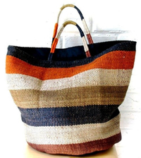 Fair Trade dharma jute summer stripe