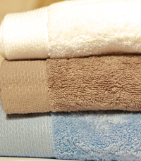ecoLinen Organic cotton bath towels