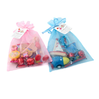 Organic Party Bags Organza Bags